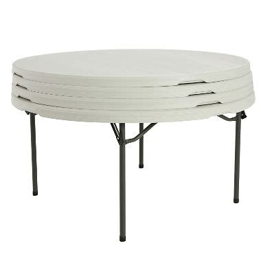 sam s 4 folding table lifetime 60 quot commercial grade folding table white