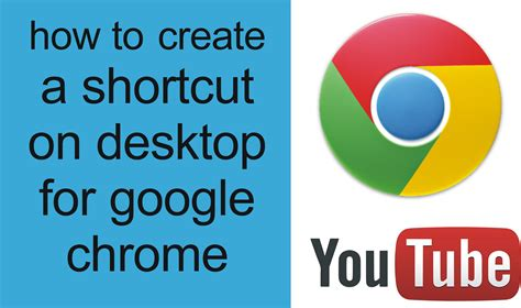 how to get a desk how to a shortcut on desktop for chrome