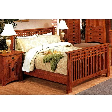 Mission Oak Bedroom Set | bedroom furniture mission furniture craftsman furniture