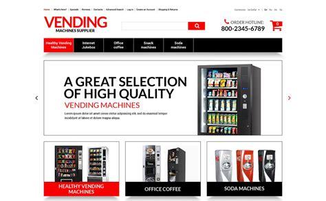 vending machines store oscommerce template