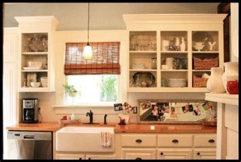 kitchen shelves vs cabinets 1000 images about kitchen shelf ideas on pinterest