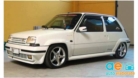 renault 5 tuning renault 5 gt turbo by martina tuning