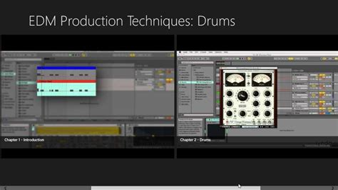 tutorial video production edm production techniques drum tutorial for windows 8 and 8 1