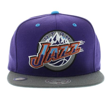 utah jazz colors utah jazz the xl 2 tone reflective snapback team colors