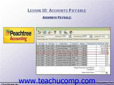 quickbooks tutorial accounts payable accounts payable