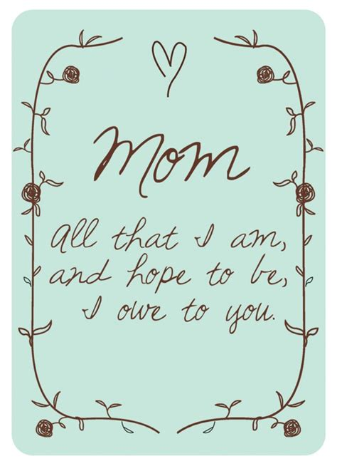 8 free mother s day printables