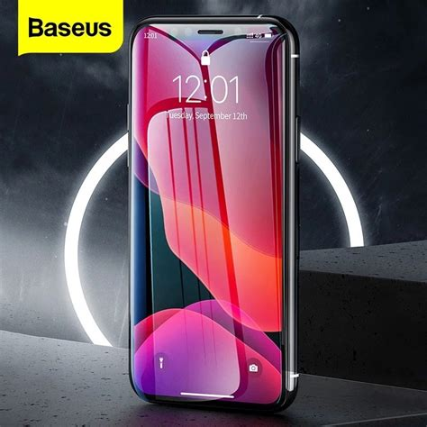 baseus iphone  pro max tempered glass guard screen protector