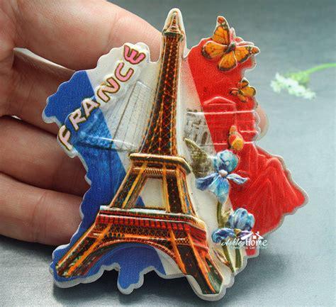 Souvenir Gantungan Kunci Eiffel Resin eiffel tower souvenir resin decorative refrigerator magnet tourist travel gift