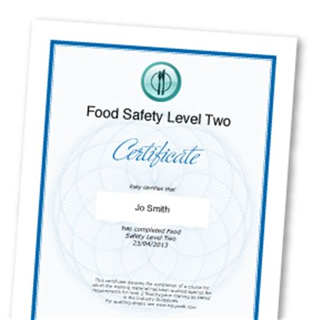 Food Hygiene Certificate Home Kitchen by Food Safety For Special Schools Independent