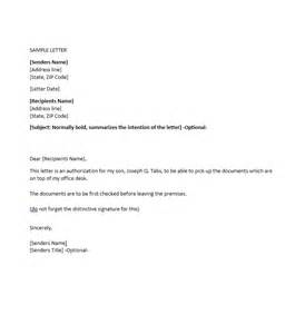 Authorization Letter Template Download authorization letter samples amp templates free template downloads