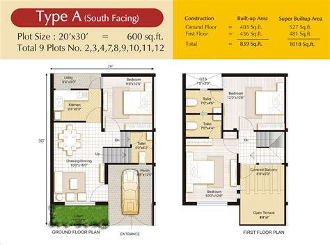 south facing duplex house plans vastu plan for south facing duplex house