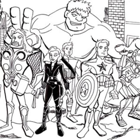 avengers assemble coloring page avengers assemble free coloring pages