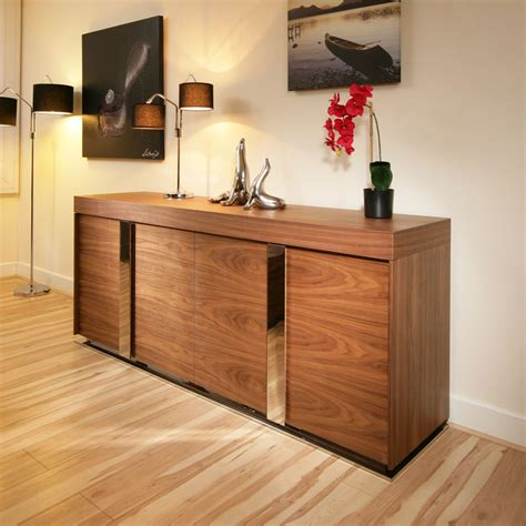 sideboard buffet modern modern large walnut sideboard cabinet cupbaord buffet 2 0mt 912