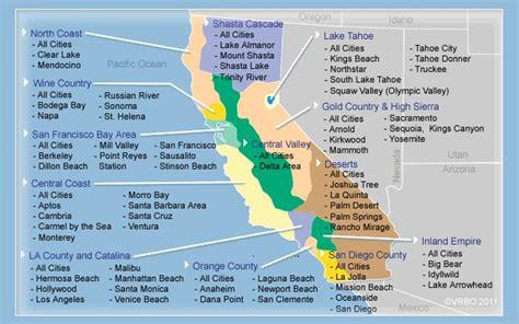 vrbo map california vacation rentals by owner california vrbo ca