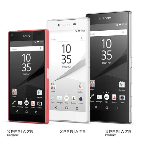 sony z5 smartphone with 4k display launched by sony xperia
