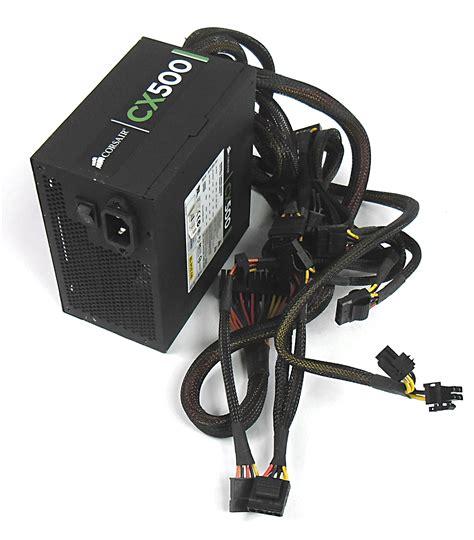 Power Supply Corsair Cx 500 W corsair cmpsu 500cx cx500 500w 20 24 pin power supply ebay