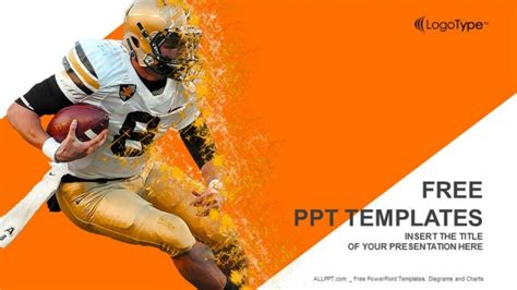 free football powerpoint templates american football powerpoint templates