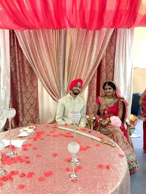 Bay Area Indian Wedding Decorations   Ceremony & Gurdwara