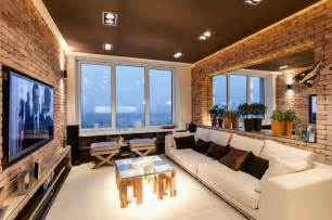 Home Interior Design In New York by Stylish Laconic And Functional New York Loft Style