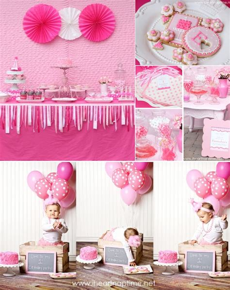 Goodwill Home Decor by Kara S Party Ideas Pretty In Pink 1st Birthday Party