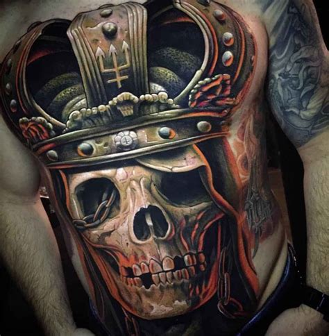 skull with crown tattoo skull with crown best ideas gallery
