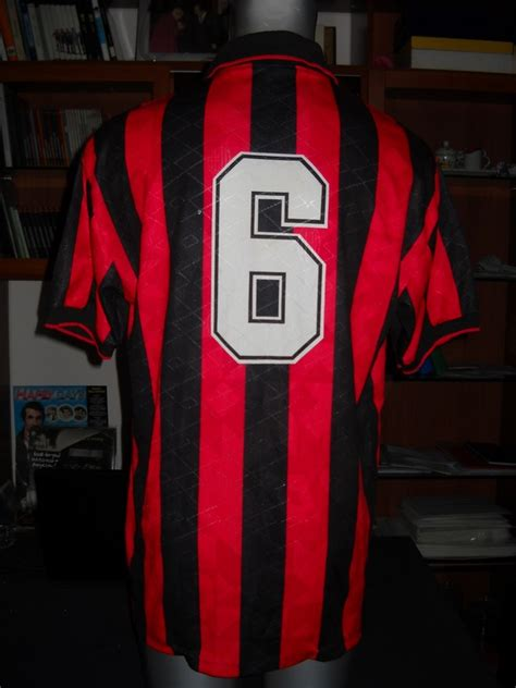 Jersey Ac Milan 92 93 Away Motta ac milan shirt home n 6 baresi ac milan football shirts