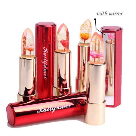Lipstik Jelly color changing lipsticks kailijumei flower jelly lipstick posherry