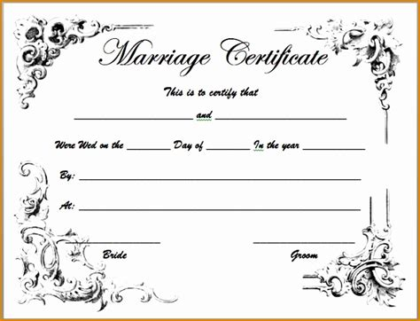 full birth certificate nottingham marriage certificate blank template free gallery