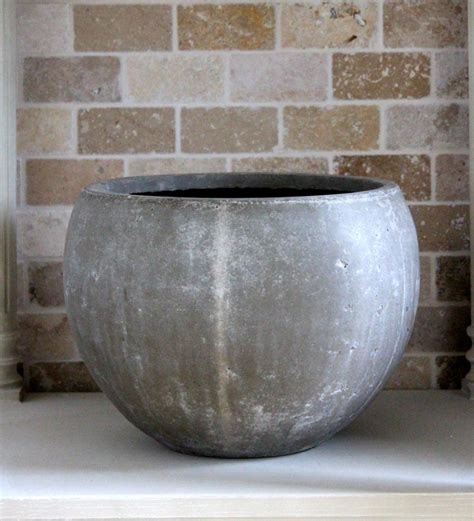 large concrete planter design