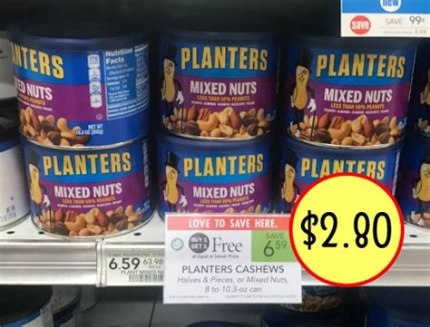 Planters Mixed Nuts Coupon by I Publix