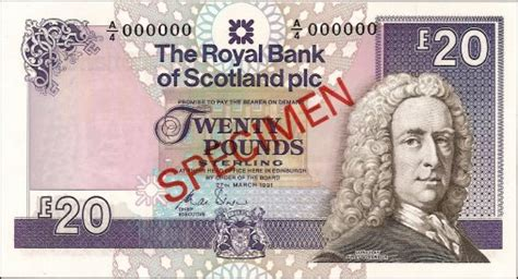 bank of scotland hotline lord ilay 1980s 1990s pam west bank notes