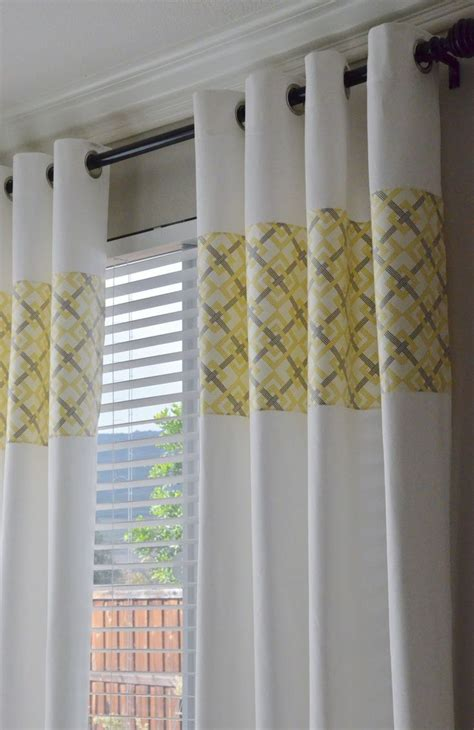 curtains white and grey 25 best ideas about yellow curtains on pinterest yellow