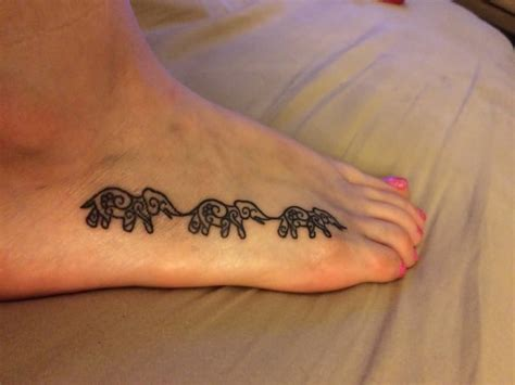 3 elephant tattoo elephant foot tattoos www pixshark images