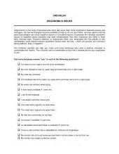 checklist emergency procedures template amp sample form