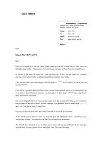 letter maternity leave template sle maternity leave letter the best letter sle