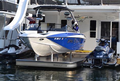 wakeboard boat lift pwc rails
