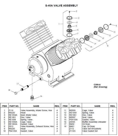 champion compressor parts diagram gas downloaddescargarcom