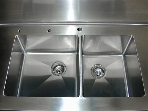 custom stainless steel sinks stainless steel countertop brooks custom