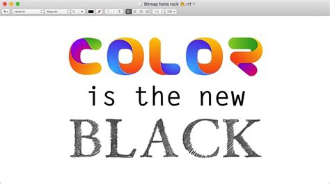 font color color fonts get ready for the revolution