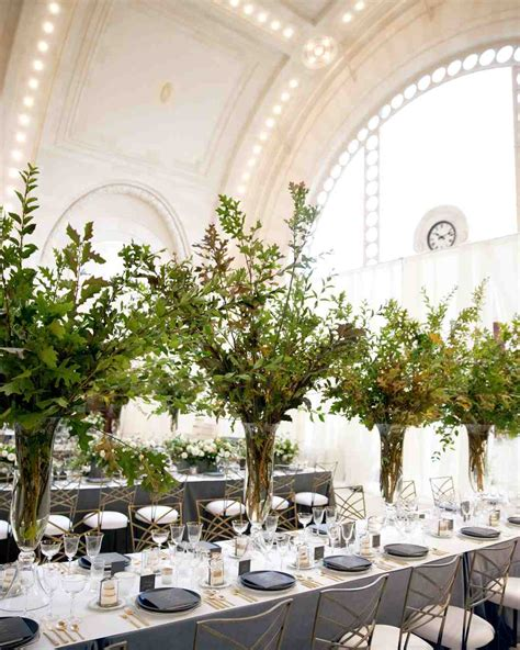Wedding Reception Table by 25 Non Floral Wedding Centerpiece Ideas Martha Stewart