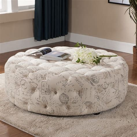 ideas for fabric ottoman coffee table design 18286