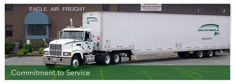 eagle air freight the largest u s customs bonded container freight station operator at logan