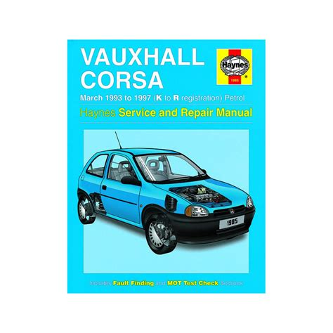 vauxhall corsa 1 2 1 4 1 6 petrol 1993 97 k to r reg