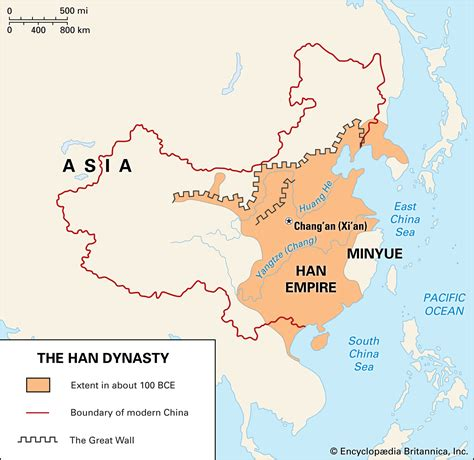 han dynasty definition map culture art facts