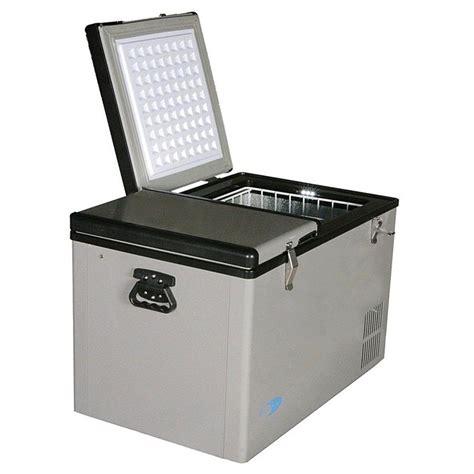 Freezer Cooler whynter 62 quart dual zone portable fridge freezer 282767 coolers at sportsman s guide