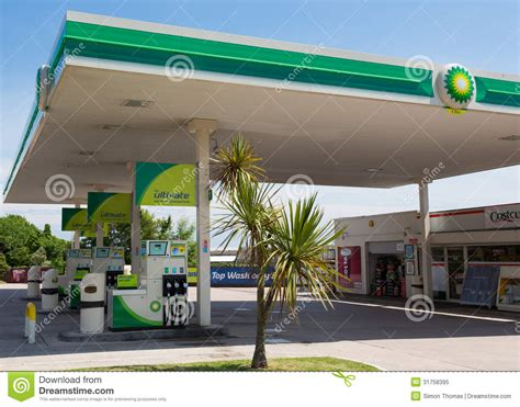 Garage Plans And Prices bp petrol station editorial image image of salcombe