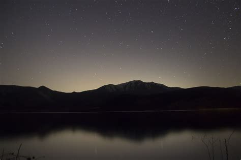 by night the mountain picalls com lake and mountains at night by daniel bowman