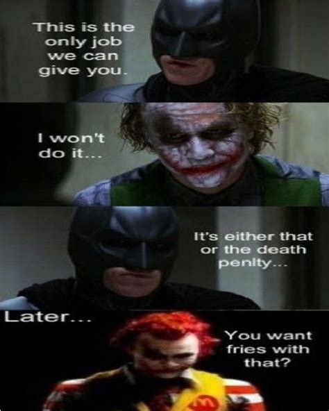 Dark Knight Joker Meme - job best joker memes