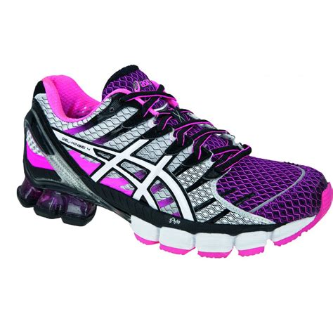 running shoes asics asics gel kinsei 4 pink running shoes
