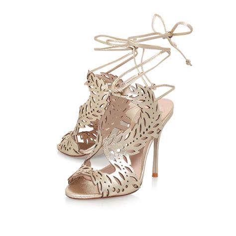 horatio gold high heel sandals by kg kurt geiger kurt geiger